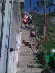 階段歩きの会
