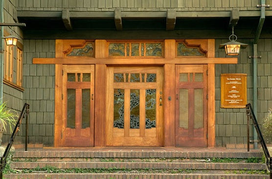 Gamble house entrance