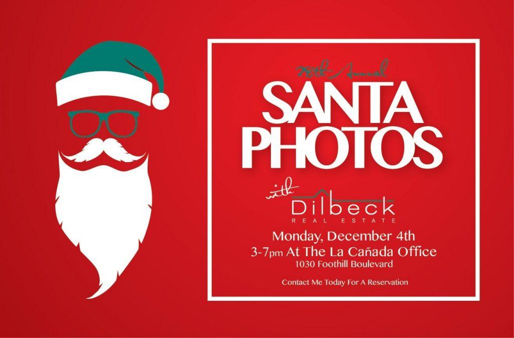 12月4日(月)サンタと一緒の無料写真撮影会!